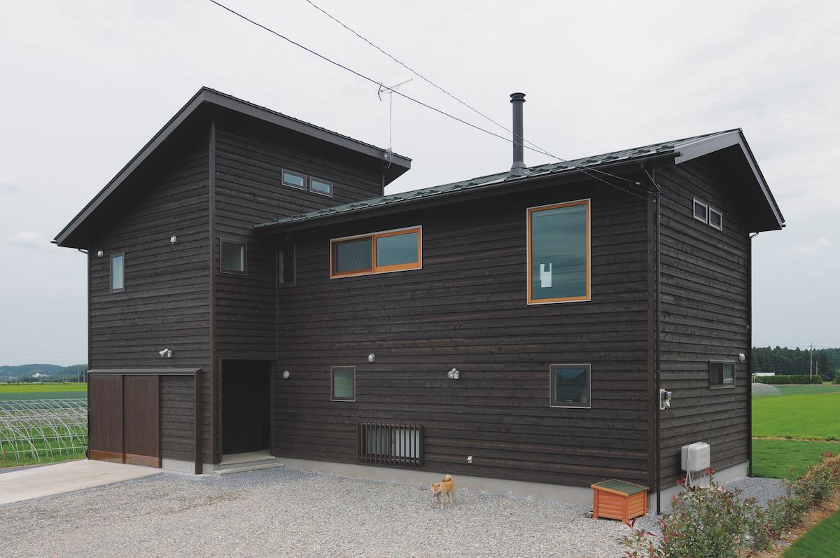 無垢材や自然素材を活かした健康的な家
