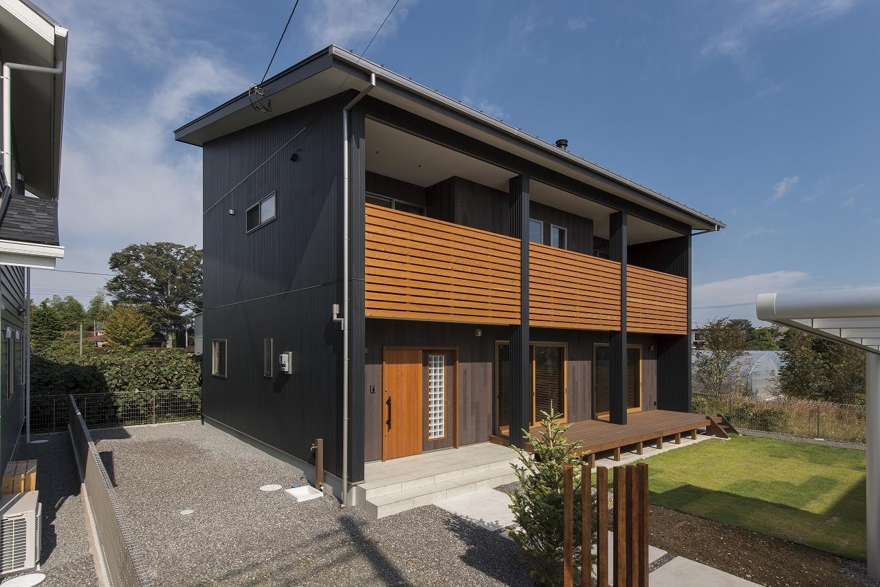 自然の優しさ溢れる無垢の家